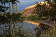 O lago dentro do Alto Atacama