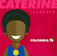 👑 Caterine Ibargüen Voló por ese Oro 👼#AfroGold