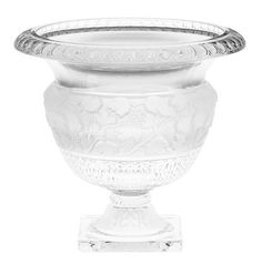 Godinger Athena Bowl by Godinger. Save 50 Off!. $50.00. The Anthena bowl will be passed down from generation to generation.. Famous Godinger quality.. This fabulous bowl is the perfect gift for that special friend or associate.. The rounded and scalloped edges show the craftsmanship and patience that went into the creation of this fabulous centerpiece bowl.. The Greek-style frosted center and foot of the Athena bowl will make it a classic for years to come. The Athena Bowl, b...