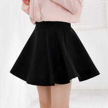 Hyoty - Elasticized Waist Mini Skirt
