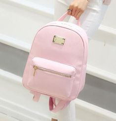 Women Backpack Small Black PU Leather Women's Backpacks Fashion School Girls Bags Female Back Pack Famous Brand mochilas