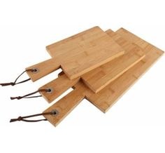 Deluxe Quality Heart of House Bamboo Paddle Set of 3 Chopping Boards. Heart of House http://www.amazon.co.uk/dp/B01AMKR09G/ref=cm_sw_r_pi_dp_kbFSwb0CPQ2RM