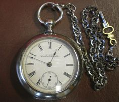 Antique 8 Day Fancy Dial With Exposed Balance Wheel Unsigned Swiss Pocket Watch Ca1890s To Prevent And Cure Diseases Watches, Parts & Accessories