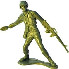 Classic Army Men Have Just Been Reissued and are Made in USA -Kalkaska, Michigan Childhood Toys, Childhood Memories, Toy Story, Army Men Toys, Green Army Men, Plastic Soldier, Classic Army, Toy Soldiers, Classic Toys