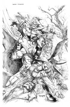 Stephen Segovia / Batman vs Scarecrow