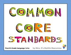 My principal loves these!  Post the Common Core standards around your fourth grade classroom with these uniquely illustrated posters designed for e...