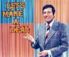 Let's Make a Deal (1963-1976). Carol Merrill way before Vanna White!