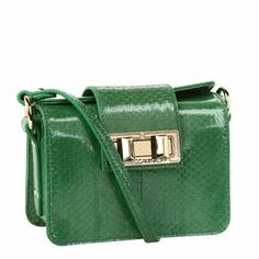 Rebecca Minkoff - Mini Box (Green) - Bags and Luggage Rebecca Minkoff Rebecca Minkoff Handbags, Satchel, Crossbody Bag, Green Bag, My Bags, Messenger Bag, Fashion Accessories, Purses, Shoe Bag