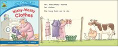 Wishy-Washy Clothes—by Joy Cowley Series: Joy Cowley Early Birds GR Level: F Genre: Narrative, Fiction