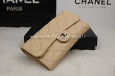 Chanel apricot flap wallet from USD205 Code: A31506 Material: Quilted grained calfskin W18*H10*D3 CM Price: 205 USD Inquiry: buy@ladybag.us website: http://www.ladybag.us