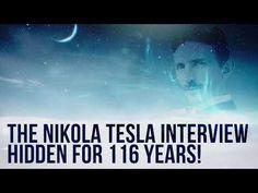 The Nikola Tesla Interview Hidden for 116 Years! - YouTube