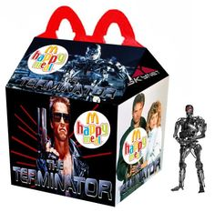 """""""The Terminator"""" Happy Meal"""