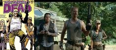 Abraham, Rosita and Eugene! |The Walking Dead - I can't wait to see what they do with these characters on the show.