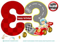 3 Year Old Boy Racer On Craftsuprint Designed By Gordon Fraser