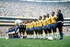 World Cup Final, Estadio Azteca, Mexico City, June 21, 1970. There is only one word for this: EPIC.