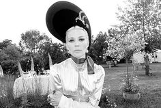 Daphne Guinness photographed by Terry Richardson at Kate Moss Wedding Party