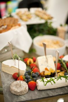 A cheese & tea party This unusual concept is making waves in foodie circles, replacing the traditional cheese and wine party. Have black, oolong and Green teas on hand and serve with a variety of cheeses. Great pairings include goat's cheese with Assam tea and Manchego with Sencha.