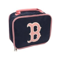 MLB Boston Red Sox Lunchbreak Lunch Box, Pink, Medium by Concept 1. $11.89. Printed league logo onFront. Durable 70D Nylon. Lead Free. high-density screenprinted team logo. Insulated PVC lining. The lunchbreak is a cool and handy lunchbox for school or work that shows your favorite MLB team's logo.