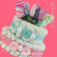 Draper cake torta de pañales nacimiento birth regalos para bebe twins gifts