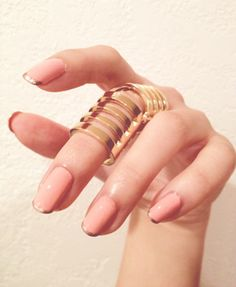 manicure nail art rings style