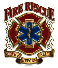 """The Symbol of Fire Rescue -- St. Florian's Cross (Maltese Cross) . . . is Christ's cross - the universal symbol of true rescue. """"Faith in the Line of Duty - Victory Cord!"""""""
