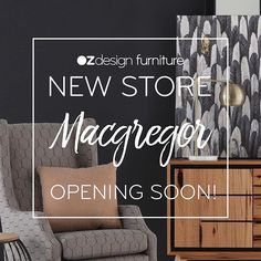 We are excited to announce our NEW Macgregor store in Brisbane is OPENING SOON at 520 Kessels road. Stay tuned for the ++Grand Opening++ details #ozdesignfurniture #macgregor #newstore #grandopening #brisbane #homefurnishings #interiors #home #style #design #queensland #instafollow #home #interiordesign #furniture