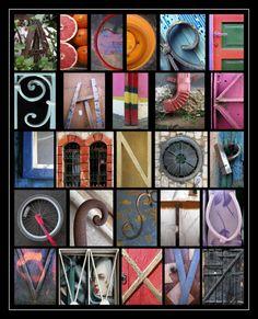 Ma ville, dessine-moi un alphabet. / My town, draw me an alphabet. / By Abba Richman. Typography Alphabet, Alphabet Print, Alphabet Design, Alphabet Book, Alphabet Charts, Alphabet Photography, Photography Projects, Alphabet Pictures, Photo Letters