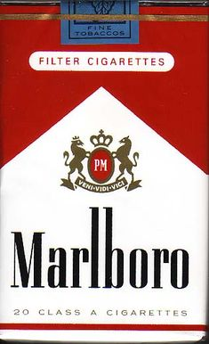 Marlboro Soft Pack... Smoked a lot of these in my youth.