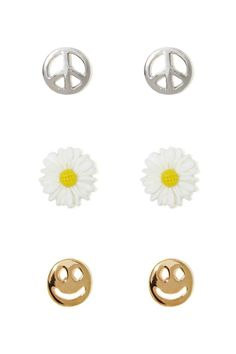 Peace & Love Earring Pack