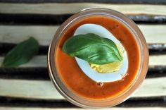 Tomato soup Tomato Soup, Cantaloupe, Eggs, Fruit, Inspiration, Food, Biblical Inspiration, Meal, Egg