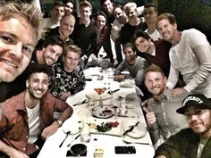 F1 drivers split dinner 18 ways – and Lewis Hamilton blames Nico Rosberg | Sport | The Guardian