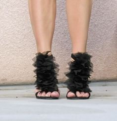 DIY shoes . . . . now I know what to do with my old strappy sandals . . .