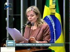 Senadora Gleisi Hoffmann, depenando o senador tucano Cássio Cunha Lima
