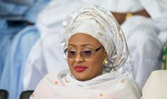 Buhari's wife mark's 46th birthday with patients in the hospitals.