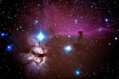 Gene DeRosa of World Blogosphere shares this amazing photo of the Horsehead Nebula taken by John Miranda and posted on imageofthedayblog.com. Miranda used a Nikon D700 DSLR camera connected to a Celestron CPC 1100 telescope to capture the stunning image.