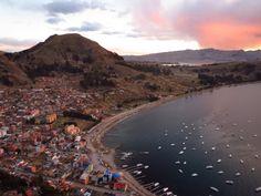 Inspiration pur - Sunsets around the world. Eine einmalige Reise um die Welt! #copacabana #bolivien www.reiseinspiration.ch #sunset #aroundtheworld #travel #reisen #weltreise #romantic