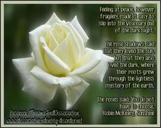 looking for beautiful photos of flowers with poems | Feeling at peace, however fragilely, made it easy to slip into the ...