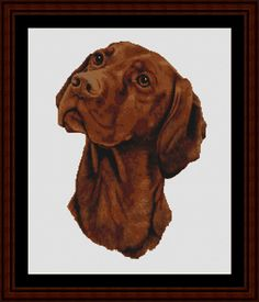 Viszla - Cross Stitch Collectibles fine art counted cross stitch pattern