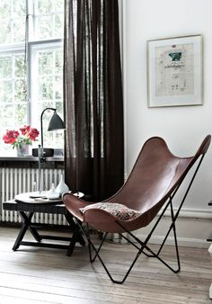 Leather Butterfly Chairs – Classical And Still Elegant