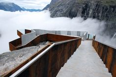 Trollstigen National Tourists Route. Trollstigen, Norway. Reiulf Ramstad Arkitekter