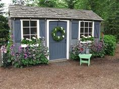 Are you looking garden shed plans? I have here few tips and suggestions on how to create the perfect garden shed plans for you. Diy Storage Shed Plans, Wood Shed Plans, Storage Shed Decorating Ideas, Storage Sheds, Painted Shed, Painted Garden Sheds, Shed Colours, Colors, Shed Color Ideas