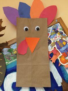 Brown paper bag turkey