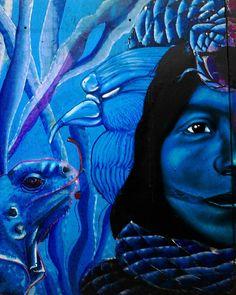 "Process ""Ayahuasca"" collaboration Ft. Parcha (Blue side) #StreetArt #Art #Parcha #Ayahuasca #Avedelasabiduria #bird #muralism #Art #Arte #graffiti #Selva #Disciplina #Spray #spraypaint #sprayart #Spraycan #streetart #muralism #Paint #urbanart #instagraffiti #bestartpage #artfido #artistsdrop #artistsoninstagram #artist_unity_ #artist_discover #globalstreetart #artist_showcase #Pinterest #Jech #TheArtOfJech"