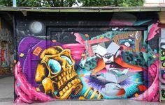Juxtapoz Magazine - Low Bros x Look in Berlin