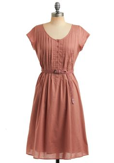 Sweet, soft dress for everyday. And you just know I'd have to pair it with a cardigan and flats.