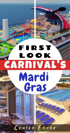 This 180,000 gross ton cruise ship will feature six distinct zones of guest pleasing experiences on the vessel's 20 decks, including the first roller coaster on a cruise ship.  Here is a first look at Mardi Gras with some tantalizing pics.... #carnivalcruise #carnivalcruiseline #carnivalmardigras #mardigrascruise #cruiseship