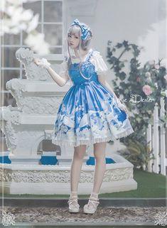 Avenue Denfer ~Treasures of Deep Blue~ Lolita JSK $99.99 - My Lolita Dress