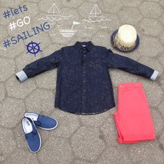Nautical Inspired Style Look! Boys Fashion: Lets go sailing!