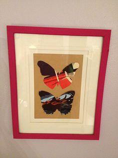 Framed Butterflies.