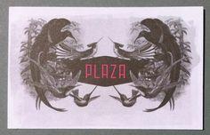 Plaza Club (Businesscard)